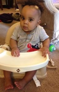 Julian at 8 months